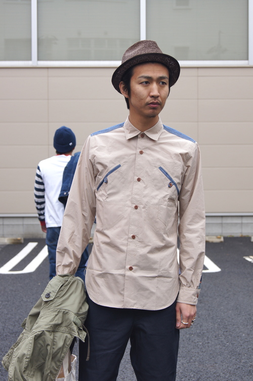COMME des GARCONS HOMME - 綿サージマウンテンパーカー_c0079892_19195925.jpg