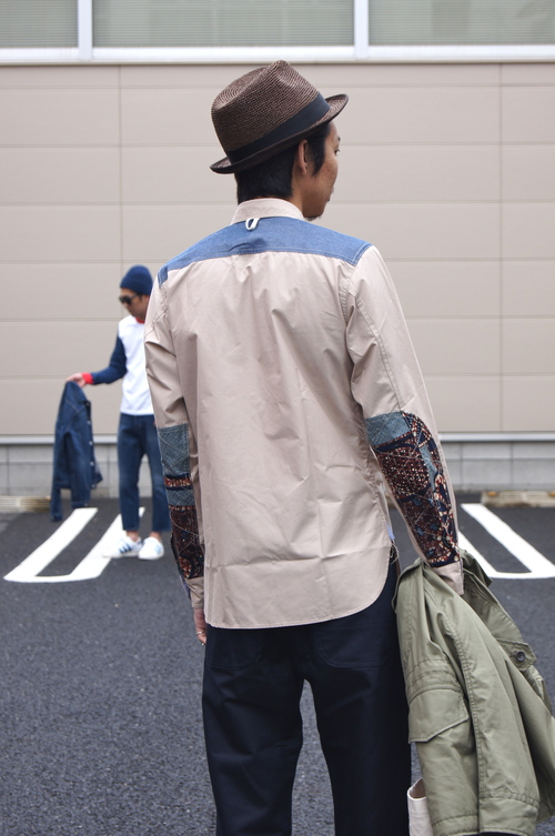 COMME des GARCONS HOMME - 綿サージマウンテンパーカー_c0079892_192016100.jpg