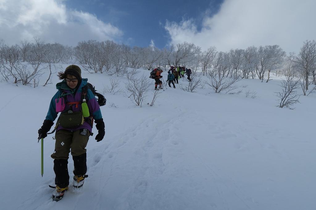 白老岳と北白老岳、3月11日_f0138096_16534974.jpg