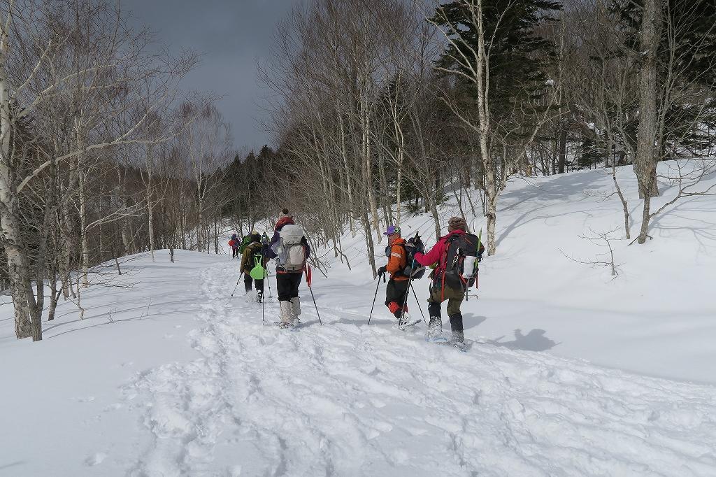 白老岳と北白老岳、3月11日_f0138096_16545747.jpg