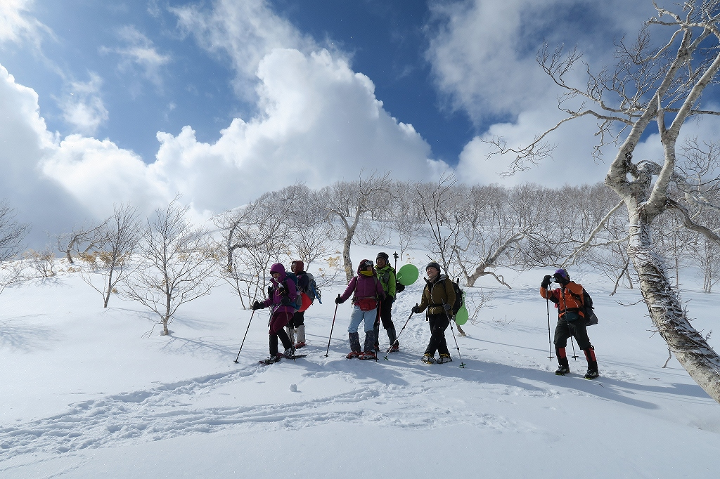 白老岳と北白老岳、3月11日_f0138096_1654673.jpg