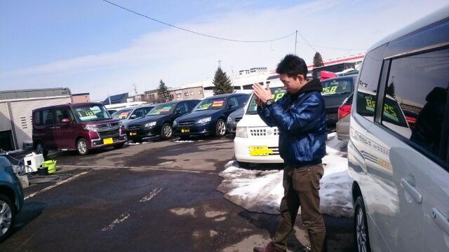 3月13日(日)TOMMYアウトレット☆K様セレナ納車!100万円以下専門店♪♪_b0127002_1742520.jpg
