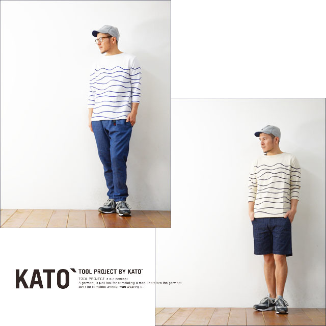 KATO\'[カトー] WAVE BORDER CUT&SEWN [KC610641] MEN\'S_f0051306_15082189.jpg