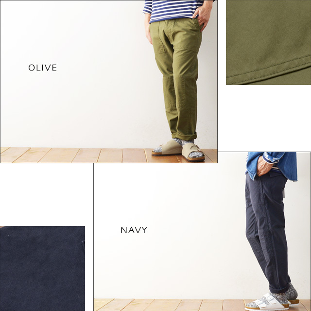 ordinary fits [オーディナリー フィッツ] BARE FOOT FATIGUE PANTS [OM-081] MEN\'S/LADY\'S_f0051306_15162430.jpg