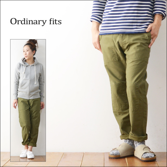 ordinary fits [オーディナリー フィッツ] BARE FOOT FATIGUE PANTS [OM-081] MEN\'S/LADY\'S_f0051306_15162433.jpg