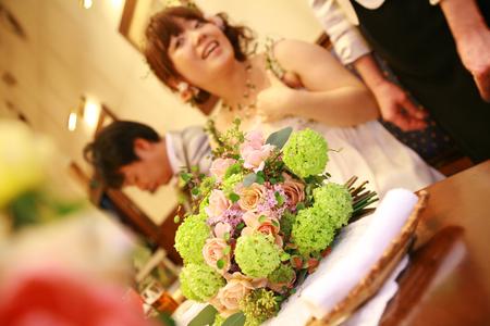 新郎新婦様からのメール 2011年3月12日に長野まで届けたブーケ_a0042928_12563459.jpg
