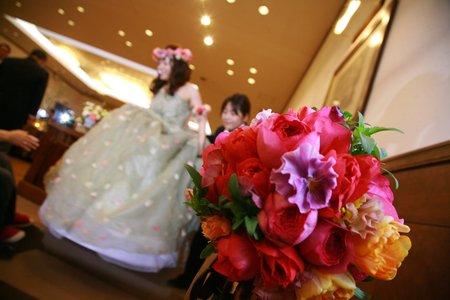 新郎新婦様からのメール 2011年3月12日に長野まで届けたブーケ_a0042928_1257567.jpg