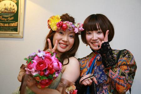 新郎新婦様からのメール 2011年3月12日に長野まで届けたブーケ_a0042928_12582492.jpg