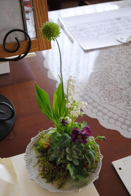 新郎新婦様からのメール 2011年3月12日に長野まで届けたブーケ_a0042928_13113162.jpg