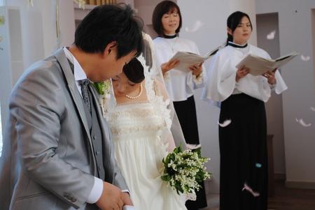 新郎新婦様からのメール 2011年3月12日に長野まで届けたブーケ_a0042928_1314810.jpg