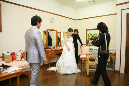 新郎新婦様からのメール 2011年3月12日に長野まで届けたブーケ_a0042928_1316248.jpg