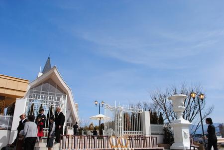 新郎新婦様からのメール 2011年3月12日に長野まで届けたブーケ_a0042928_1317234.jpg
