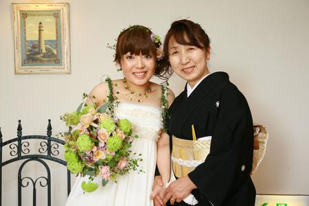 新郎新婦様からのメール 2011年3月12日に長野まで届けたブーケ_a0042928_13174754.jpg