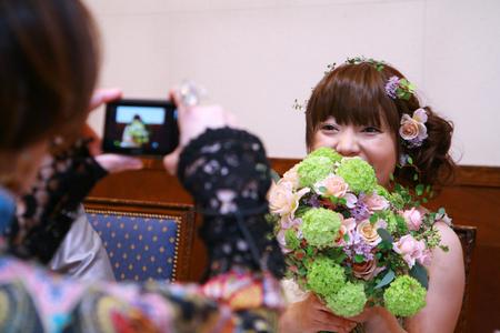 新郎新婦様からのメール 2011年3月12日に長野まで届けたブーケ_a0042928_13185194.jpg