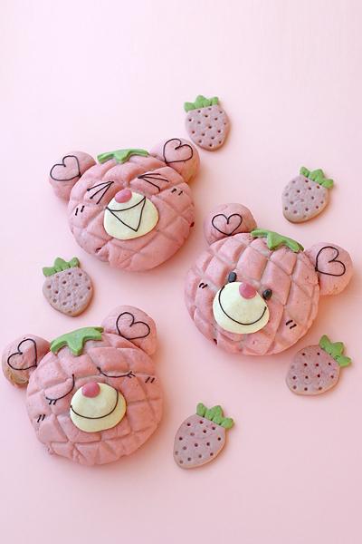 【レシピ】苺メロンベアと甘酒作り_f0149855_1431250.jpg