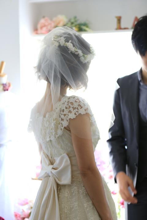 ホワイトベース華奢なナチュラル花冠【通販可】_e0212771_13203112.jpg