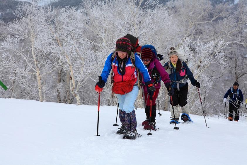 白老岳と北白老岳、3月11日-同行者からの写真-_f0138096_2215382.jpg