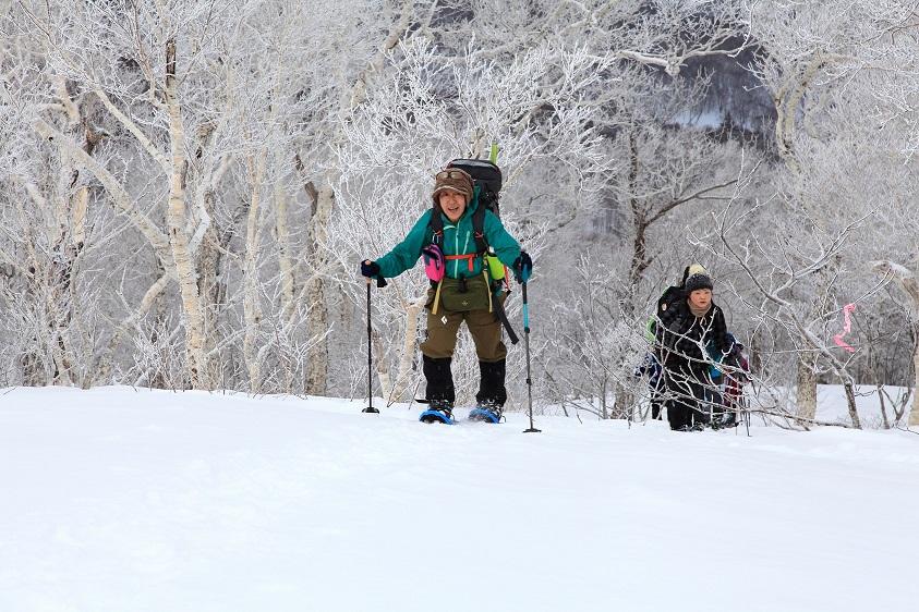 白老岳と北白老岳、3月11日-同行者からの写真-_f0138096_22154889.jpg