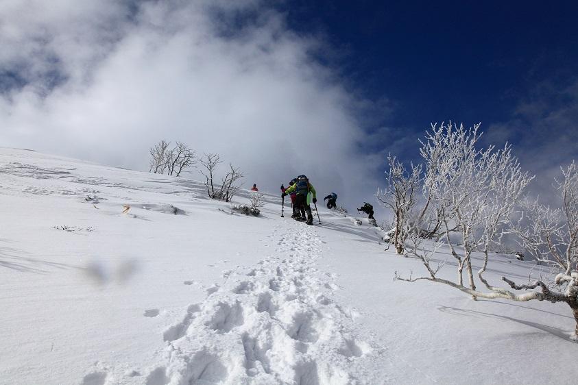 白老岳と北白老岳、3月11日-同行者からの写真-_f0138096_22155719.jpg