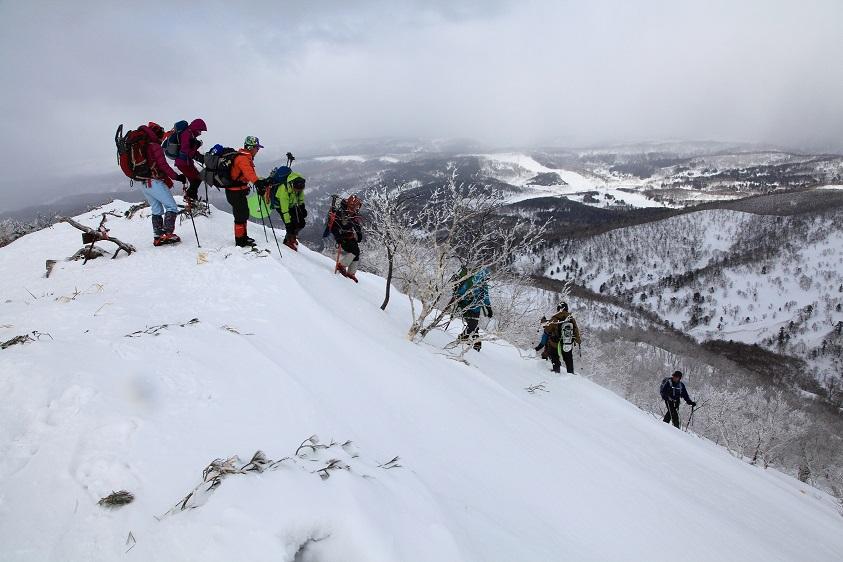 白老岳と北白老岳、3月11日-同行者からの写真-_f0138096_22161434.jpg