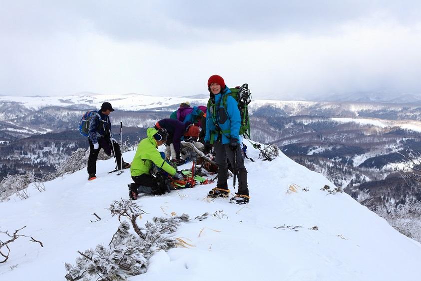 白老岳と北白老岳、3月11日-同行者からの写真-_f0138096_221657.jpg