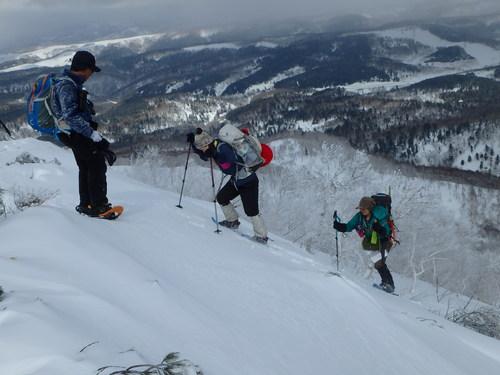 白老岳と北白老岳、3月11日-同行者からの写真-_f0138096_22173468.jpg