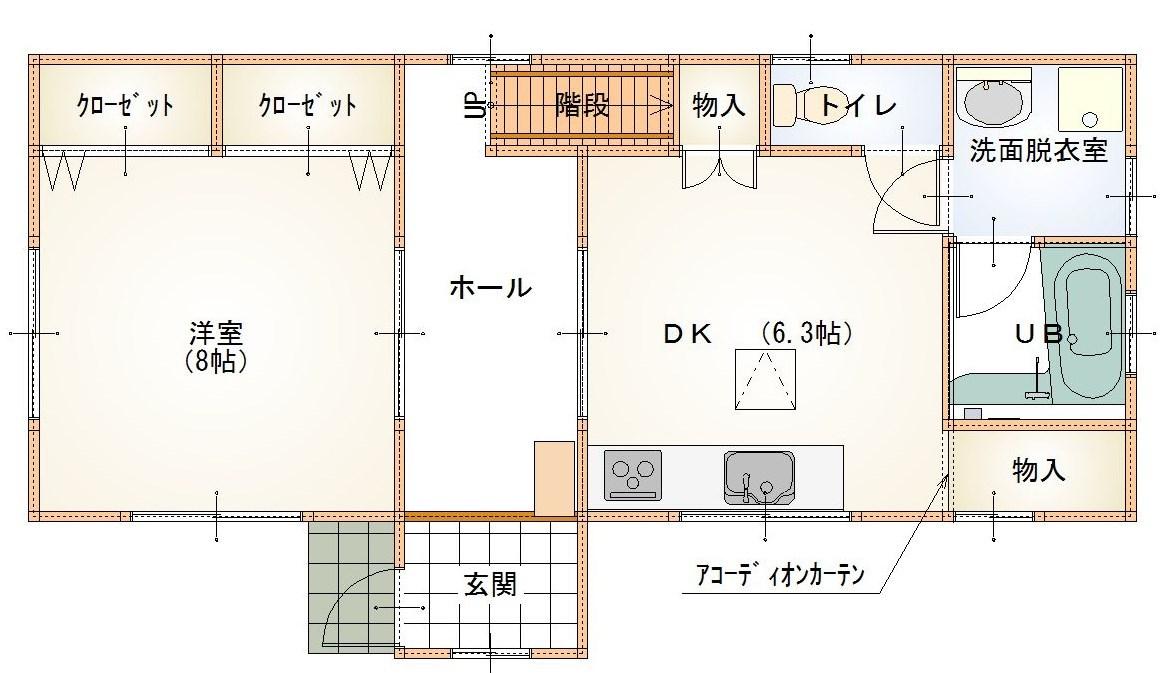 戸建貸家物件 埼玉県児玉郡上里町 4DK 即入居可の物件です._e0243413_14513998.jpg