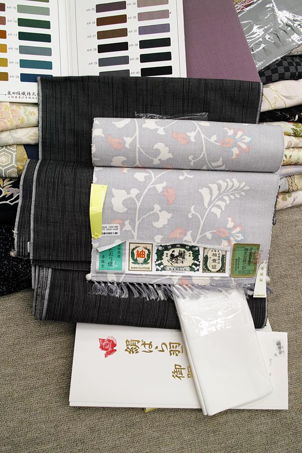 石下結城紬の帯、反物を買いました。_c0223825_02045528.jpg