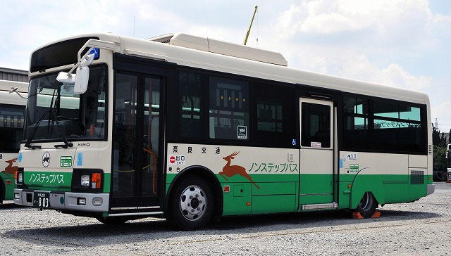 奈良交通~レインボーⅡノンステップバス_a0164734_13544.jpg