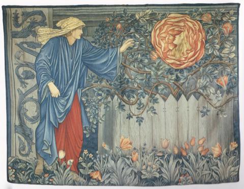 巨匠が描いた《バラの絵》シリーズ:エドワード・バーン=ジョンズ、ウィリアム・モリス《薔薇物語》_e0356356_17362031.jpg
