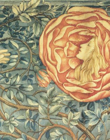 巨匠が描いた《バラの絵》シリーズ:エドワード・バーン=ジョンズ、ウィリアム・モリス《薔薇物語》_e0356356_17363624.jpg