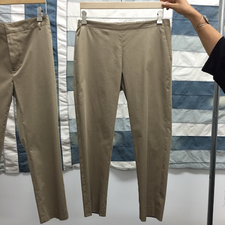 NEW COLOR! 6397 PULL-ON TROUSERS KHAKI_f0111683_19503349.jpg