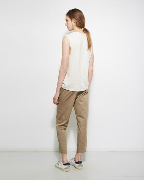 NEW COLOR! 6397 PULL-ON TROUSERS KHAKI_f0111683_19504302.jpg