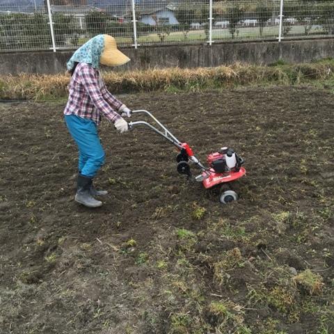 耕運機の 初仕事~♪_f0229190_10112376.jpg