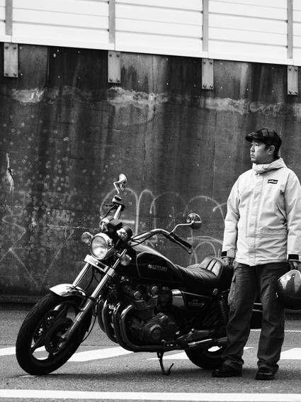 5COLORS「君はなんでそのバイクに乗ってるの?」#103_f0203027_2119928.jpg