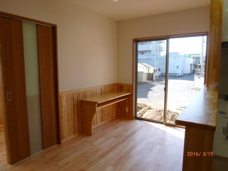 松山市 N様邸 新築工事 完成_a0167735_16093560.jpg