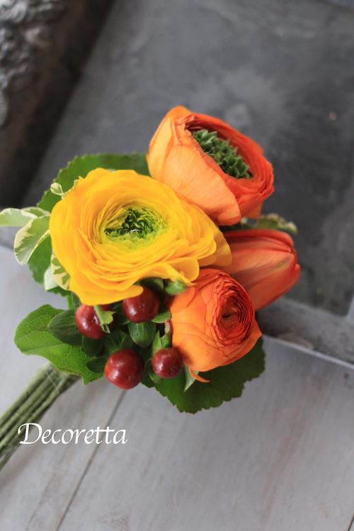 生花のコサージュ_f0296440_2138419.jpg