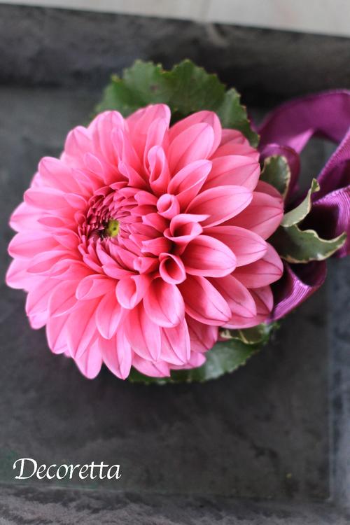 生花のコサージュ_f0296440_21392951.jpg