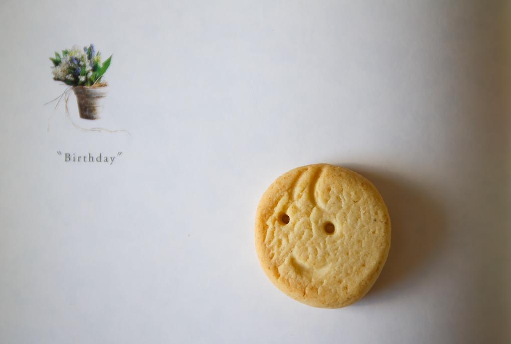 桜クッキー ミントクッキー  ブログのお誕生日_d0034447_14315517.jpg