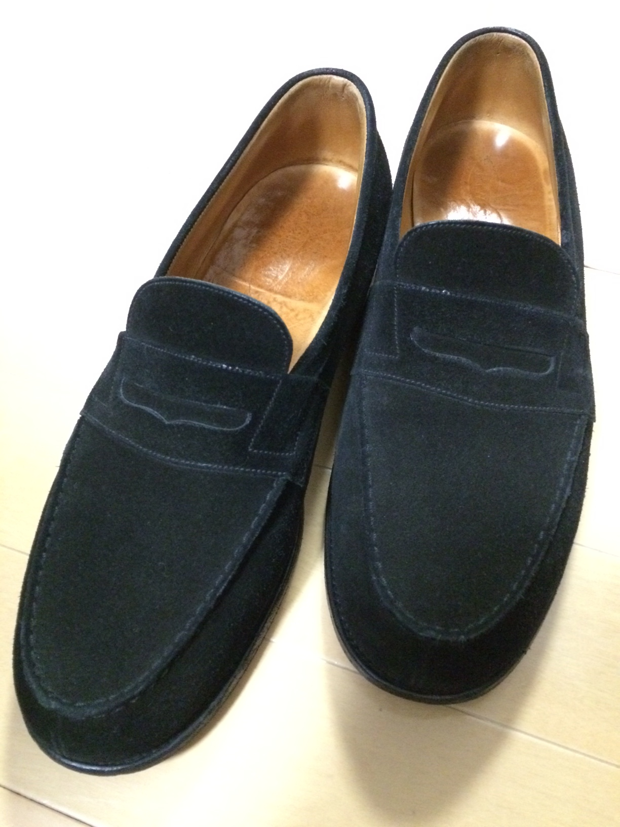 "J.M.WESTON  ""180 SIGNATURE LOAFER\""_a0216198_22591325.jpg"