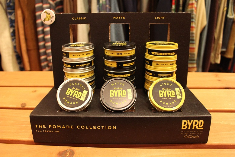 "HAIRDO PRODUCTS ""BYRD (バード)\"" ご紹介_f0191324_1254032.jpg"