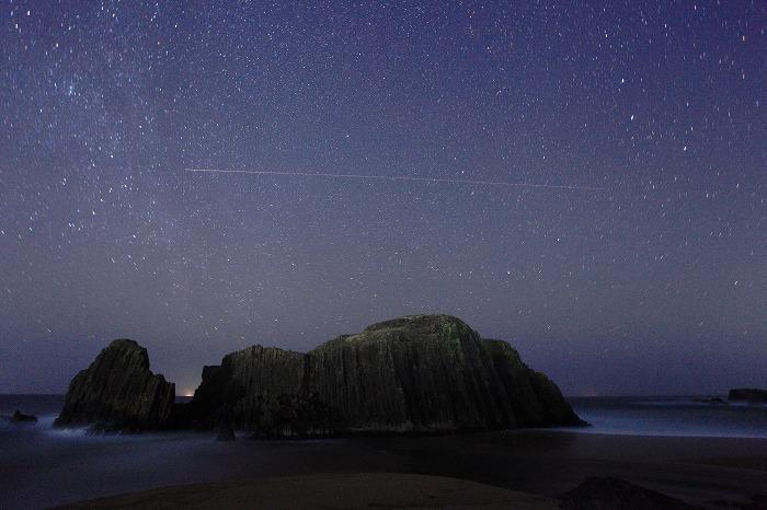 立岩の夜_a0294534_17133547.jpg