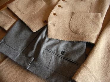 ~HARA KEI Model~ 幻の茶のコートをイマジネーション ~CAMELHAIR Tweed~ 編_c0177259_1393043.jpg