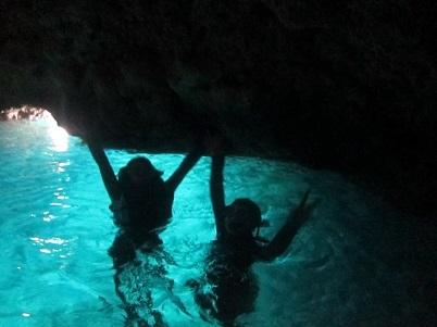 ビーチ体験ダイビングと青の洞窟!!_a0156273_20164958.jpg