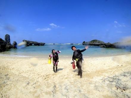 ビーチ体験ダイビングと青の洞窟!!_a0156273_20164996.jpg