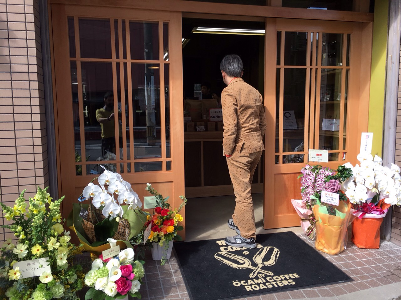 マヌさん 祝開店_f0171785_14353525.jpg