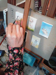 s.ukawaさんライブペイント作品完成しました!個展は3月21日迄_d0322493_23573754.jpg