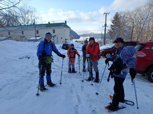 紋別岳から幌平山縦走、3月13日-同行者からの写真-_f0138096_18123628.jpg