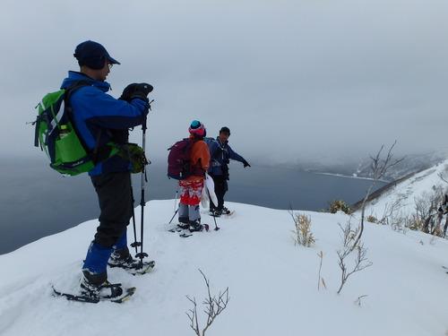 紋別岳から幌平山縦走、3月13日-同行者からの写真-_f0138096_18125056.jpg