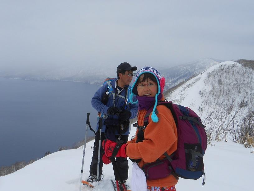 紋別岳から幌平山縦走、3月13日-同行者からの写真-_f0138096_18133666.jpg